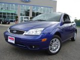 2005 Sonic Blue Metallic Ford Focus ZX3 S Coupe #14111198