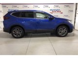 2021 Aegean Blue Metallic Honda CR-V EX AWD #141378709