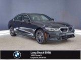 2021 Black Sapphire Metallic BMW 3 Series 330e Sedan #141425998