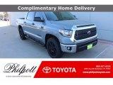 2021 Cement Toyota Tundra SR5 CrewMax #141441357