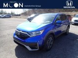 2021 Aegean Blue Metallic Honda CR-V EX-L AWD #141450966