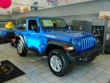 2021 Jeep Wrangler Hydro Blue Pearl