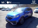 2021 Aegean Blue Metallic Honda CR-V EX-L AWD #141513135