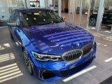 2021 Portimao Blue Metallic BMW 3 Series M340i xDrive Sedan #141513204