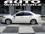 2009 Premium White Pearl Acura TSX Sedan #14161461