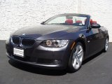 2008 Sparkling Graphite Metallic BMW 3 Series 335i Convertible #14147257