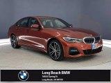 2021 Sunset Orange Metallic BMW 3 Series 330e Sedan #141661924