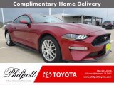 2018 Ruby Red Ford Mustang EcoBoost Premium Fastback #141705278