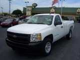 2008 Summit White Chevrolet Silverado 1500 Work Truck Regular Cab 4x4 #14148931