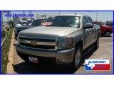 2008 Silver Birch Metallic Chevrolet Silverado 1500 LTZ Crew Cab 4x4 #14148887