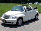 2007 Cool Vanilla White Chrysler PT Cruiser Touring Convertible #14164203