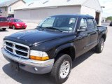 2004 Black Dodge Dakota SLT Quad Cab 4x4 #14148979