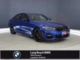 2021 Portimao Blue Metallic BMW 3 Series 330i Sedan #141777740