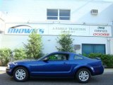 2005 Sonic Blue Metallic Ford Mustang V6 Deluxe Coupe #14146478
