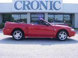 1999 Rio Red Ford Mustang GT Convertible #14157427