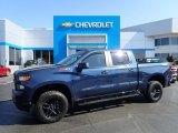 2020 Northsky Blue Metallic Chevrolet Silverado 1500 Custom Trail Boss Crew Cab 4x4 #141802662