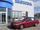 2002 Firepepper Red Pearl Honda Accord EX Sedan #14153836