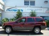 2002 Dark Garnet Red Pearlcoat Jeep Grand Cherokee Laredo 4x4 #14146474