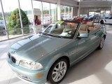 2002 Grey Green Metallic BMW 3 Series 330i Convertible #142015044