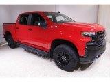 2020 Red Hot Chevrolet Silverado 1500 LT Trail Boss Crew Cab 4x4 #142026938