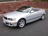 2006 Titanium Silver Metallic BMW 3 Series 330i Convertible #14151153
