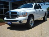 2006 Bright White Dodge Ram 1500 SLT Quad Cab 4x4 #14211863