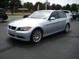 2007 Titanium Silver Metallic BMW 3 Series 328xi Sedan #14213540