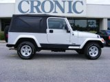 2006 Stone White Jeep Wrangler Unlimited 4x4 #14218951