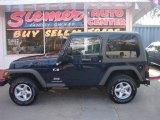 2006 Midnight Blue Pearl Jeep Wrangler X 4x4 #14159850