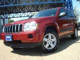 2006 Inferno Red Crystal Pearl Jeep Grand Cherokee Laredo 4x4 #14211850
