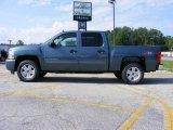 2009 Blue Granite Metallic Chevrolet Silverado 1500 LT Crew Cab 4x4 #14221395