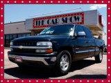 2001 Onyx Black Chevrolet Silverado 1500 LS Extended Cab #14219130