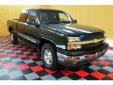 2003 Dark Green Metallic Chevrolet Silverado 1500 LS Extended Cab 4x4 #14224168