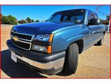 2007 Arrival Blue Metallic Chevrolet Silverado 1500 Classic LS Extended Cab #1404035