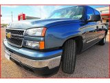 2006 Blue Granite Metallic Chevrolet Silverado 1500 LS Crew Cab #1404033