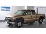 1999 Sunset Gold Metallic Chevrolet Silverado 1500 LS Extended Cab 4x4 #14225969