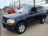 2003 True Blue Metallic Ford Explorer XLS 4x4 #14210677