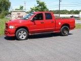 2004 Flame Red Dodge Ram 1500 SLT Sport Quad Cab 4x4 #14221924