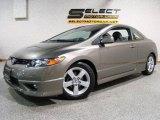 2007 Galaxy Gray Metallic Honda Civic EX Coupe #14213781