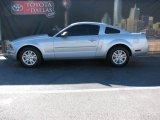 2007 Satin Silver Metallic Ford Mustang V6 Deluxe Coupe #1392937