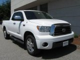 2007 Super White Toyota Tundra Limited Double Cab 4x4 #14222268