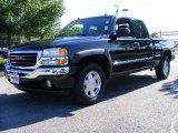 2005 Onyx Black GMC Sierra 1500 SLT Extended Cab 4x4 #14292827