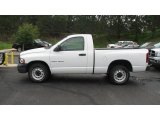 2003 Bright White Dodge Ram 1500 ST Regular Cab #14313198