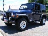 2006 Midnight Blue Pearl Jeep Wrangler Sport 4x4 #14292723