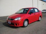 2005 Suzuki Aerio Racy Red