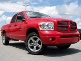 2007 Flame Red Dodge Ram 1500 Sport Quad Cab 4x4 #14351768