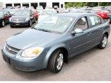2007 Blue Granite Metallic Chevrolet Cobalt LT Sedan #14370863