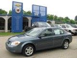 2007 Blue Granite Metallic Chevrolet Cobalt LS Sedan #14356360