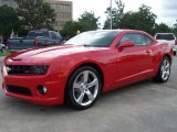 2010 Victory Red Chevrolet Camaro SS Coupe #14369986
