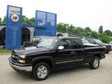2006 Black Chevrolet Silverado 1500 Z71 Extended Cab 4x4 #14356362
